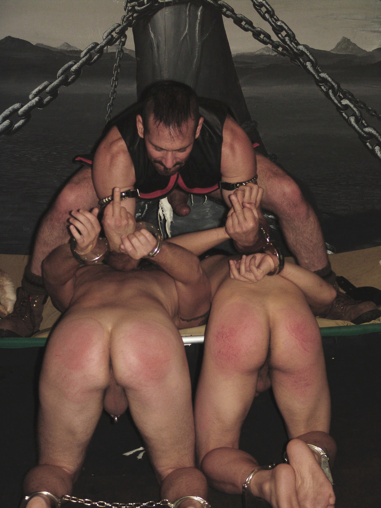 Three way bondage