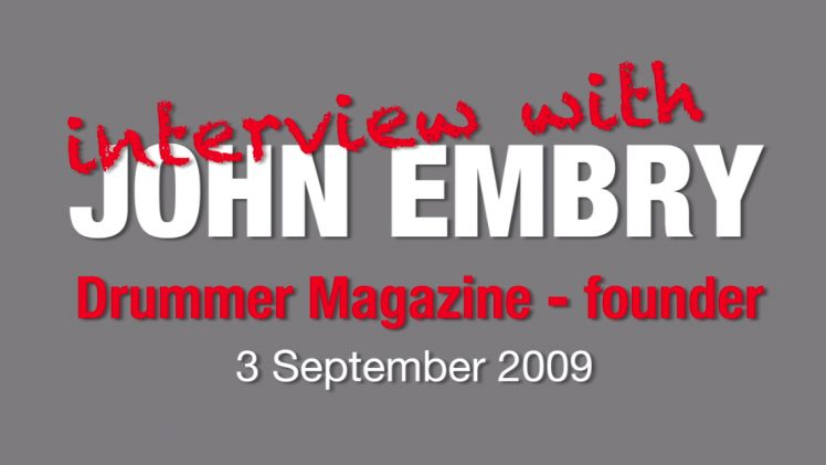 Interview with John Embry